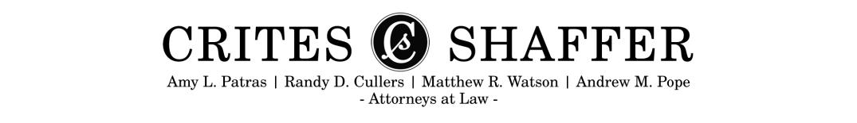 4.0 Crites Shaffer Logo Names Attorneys