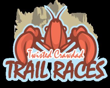 Twisted Crawdad Trails Race Logo