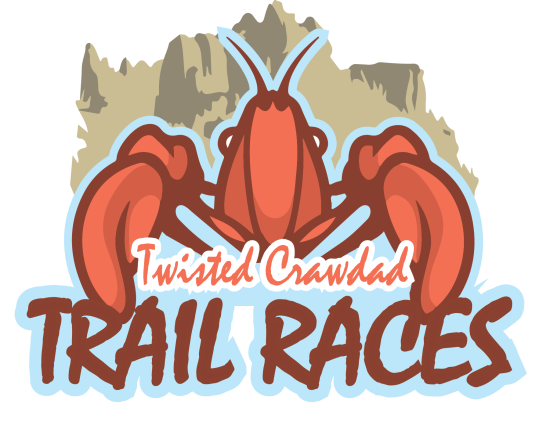 Twisted Crawdad Trails Race Logo