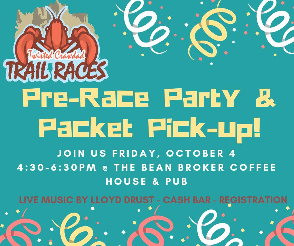 Pre-Race Party & Packet Pick-up!
